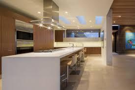 kitchen stainless steel large range hood kitchen island with tan