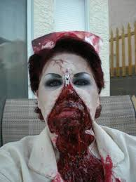 zombie makeup tutorial pic heavy and bloody new updates 2012