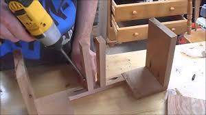 How To Build An End Table How To Make An End Table Youtube