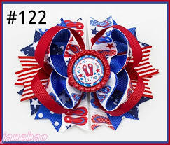 fourth of july hair bows aliexpress buy free shipping 30pcs newest 4th of july hair
