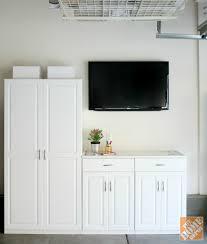 Closetmaid Garage Storage Cabinets Closetmaid Cabinets Lauren In H X 312 In W White Wood Durable