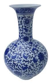 Duck Egg Blue Vase Chinese Porcelain Vases Oriental Furnishings