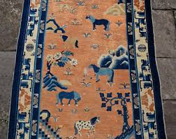 Antique Chinese Rugs Chinese Rug Etsy