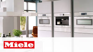 Miele Kitchen Design by Built In Coffee Makers Pureline Design Miele Youtube