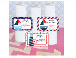 nautical design baby hand lotion baby shower favor nautical design baby shower favors