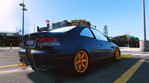honda civic si 99 honda civic si 99 add on tuning gta5 mods com