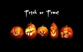 4k halloween wallpaper trick or treat cute pumpkins lanterns halloween wallpaper
