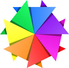 clipart color star
