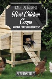 Best Backyard Chicken Coops by Chicken Coops Raising Backyard Chickens On The Homestead