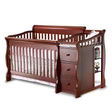 bedroom elegant nursery furniture design with cozy brown wood