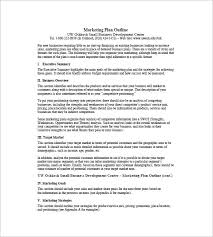 One Page Resume Samples by One Page Marketing Plan Template U2013 12 Free Word Excel Pdf