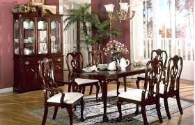cherry kitchen table set solid cherry dining table and chairs dining room tables easy home