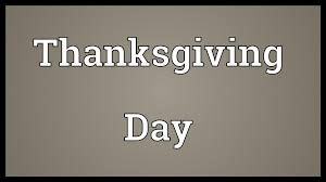 thanksgiving day meaning