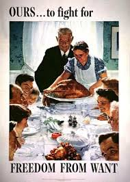 thanksgiving americana norman rockwell and franklin d roosevelt