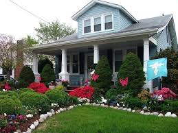 farmhouse front yard landscaping house garden state plaza hours