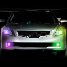 strobe lights for car headlights plasmaglow 10705 headlight multicolor led hideaway strobe light kit