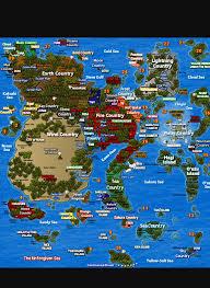Naruto World Map by The Pain Naruto Fanfic Chapter 13 Wattpad