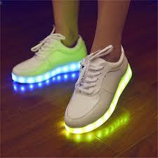 how to charge light up shoes 11 7 colors led luminous shoes led flats men women usb charging