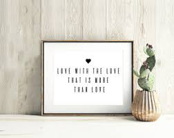 Quotes Wall Decor Love Quotes Wall Art Etsy