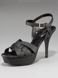 yves saint laurent platform slingback pump shoes christian