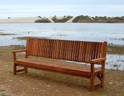Engraved Garden Benches Redwood Garden Bench With Slats Forever Redwood