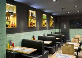 Frankfurt Station Fast Food Restaurant By Egue Y Seta Barcelona - Fast food interior design ideas