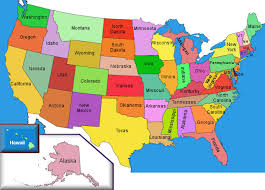 map usa color usa color map with states usa20outline20map20with20color20680x