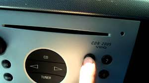 vauxhall meriva code radio youtube
