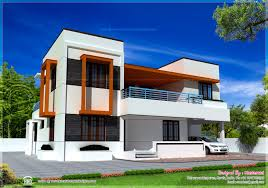 modern flat roof house plans flat roof house kerala home design floor plans house plans 72920