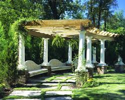 peachy design ideas arbor designs for gardens image of backyard