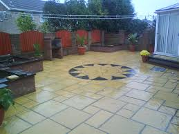 Slabbed Patio Designs Patio Paving Slabs Design Designs Ideas And Decors