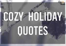 tis the season for cozy quotes