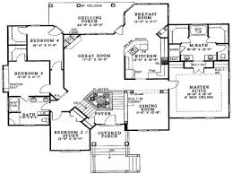 Split House Plans by Bedroom Simple Design 4 Bedroom Split Level House Plans 4