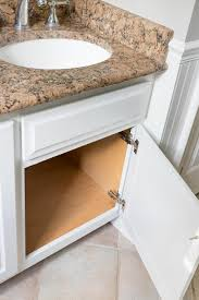 how to clean wood cabinets in bathroom our painted bathroom vanity the before after and how