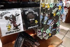 universal studios japan halloween horror nights a look at universal studios japan u0027s halloween 2017 merchandise