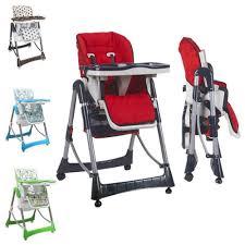 chaise bebe chaise haute bébé pliable réglable hauteur dossier et tablette