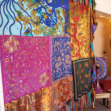 quilt wedding backdrop boho hippie curtain canopy bohemian chic from hippiewild on etsy
