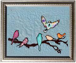 Birds Home Decor Branch And Birdies Vinyl Frame Pazzles Craft Room