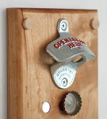 bottle opener wall mount magnet wall mounted bottle opener with magnetic cap catcher home