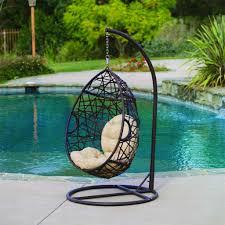 Metal Egg Chair by Egg Chairs Indoor Brand New Indoor Outdoor Hanging Wicker Swing