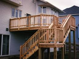 Exterior Stair Railing by Stair Rail Height Vandome