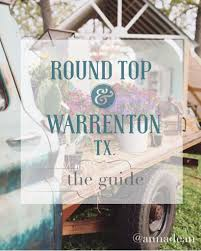 a guide to round top u0026 warrenton antiques week