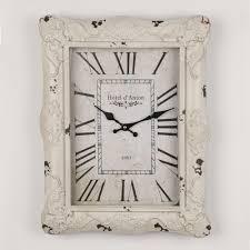 Shabby Chic Wall Clocks by Vintage Shabby Chic Wall Clock