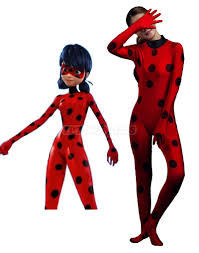 miraculous ladybug costume anime cosplay jumpsuit marinette magic