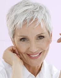haircuts for women over 50 gray 20 photo of short haircuts for women with grey hair