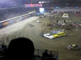 monster truck show tacoma dome tacoma dome monster jam 2009 demolition derby race part 2 youtube