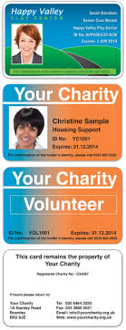 id cards for charities go id card printing services
