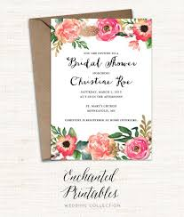 printable bridal shower invitations printable bridal shower invitation printable rustic bridal shower