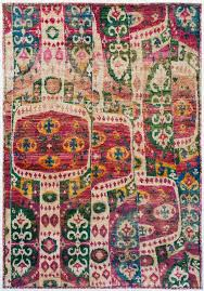 Ikat Runner Rug Gorgeous Asymetrical Colorful Ikat Rug Rugs Pinterest