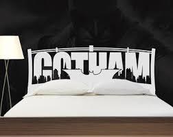 Batman Decor For Bedroom Gotham City Etsy